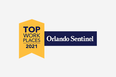 Central Florida Top Workplaces 2021 Awards